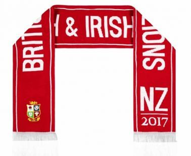 Official British & Irish Lions Rugby Crest New Zealand 2017 Tour Scarf
