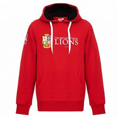 Official British & Irish Lions Rugby Crest New Zealand 2017 Tour Hoodie