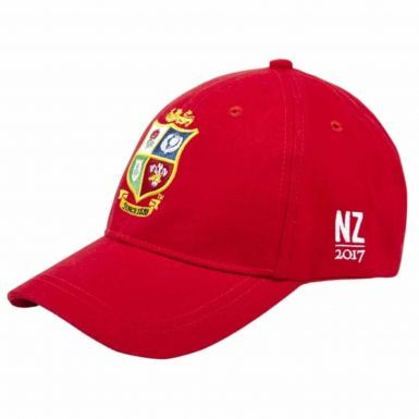 Official British & Irish Lions Rugby Crest New Zealand 2017 Tour Baseball Cap