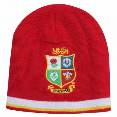 Official British & Irish Lions Rugby Crest New Zealand 2017 Tour Beanie Hat