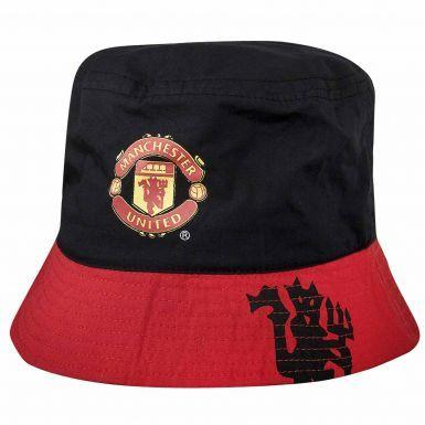 Kids Manchester Utd Crest Sun Hat
