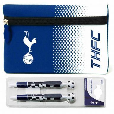 Tottenham Hotspur Pencil Case & 2 Pen Set