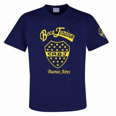 Boca Juniors CABJ Crest T-Shirt