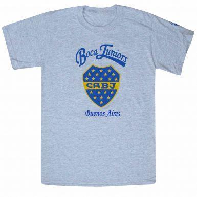 Official Boca Juniors Crest T-Shirt