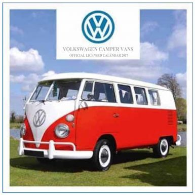 Official 12 Month VW Campervan 2017 Calendar