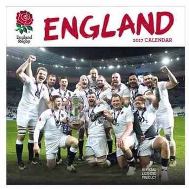 Official England Rugby RFU 2017 Calendar