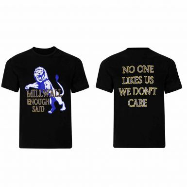 Millwall No One Likes Us T-Shirt
