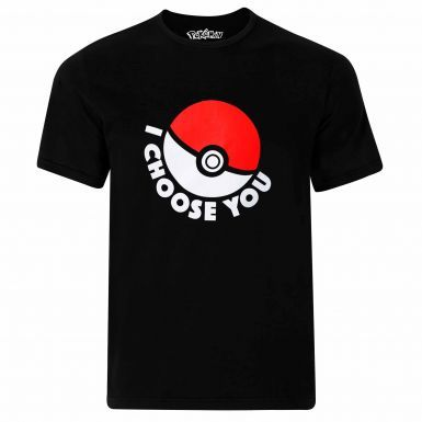 Official Poke Ball I Choose You Pokemon Go T-Shirt