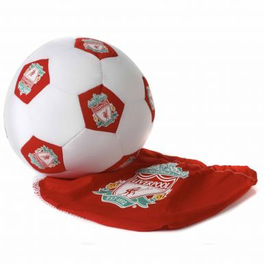 Soft Liverpool FC Football Cushion