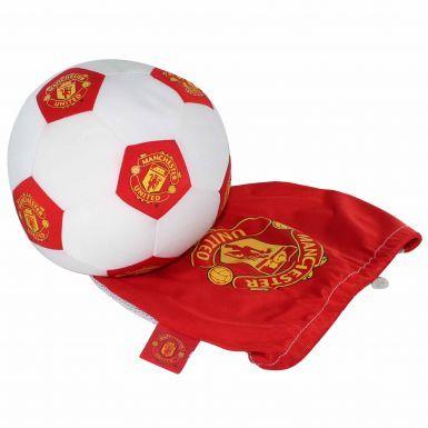 Soft Manchester United Crest Football Cushion