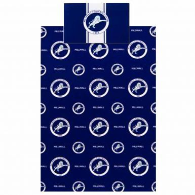 Official Millwall FC Crest Single Duvet Cover Set