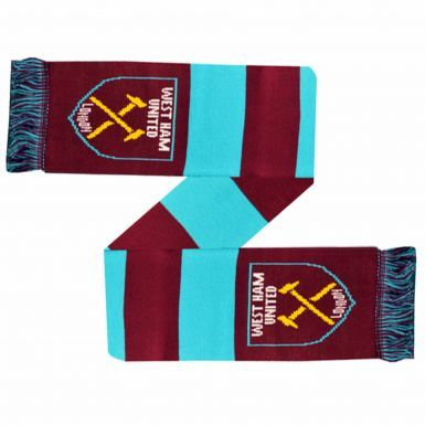 Official West Ham United Crest Bar Scarf