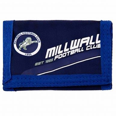 Official Millwall FC Crest Money Wallet