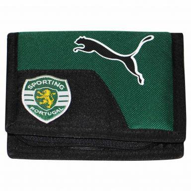 Sporting Lisbon Crest Money Wallet by Puma