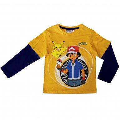 Official Kids Pikachu Pokemon T-Shirt
