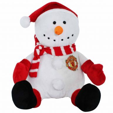 Manchester United Christmas Snowman