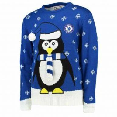 Chelsea FC Merry Christmas Jumper