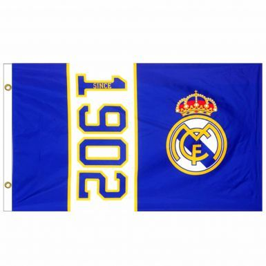 Real Madrid Crest Soccer Flag