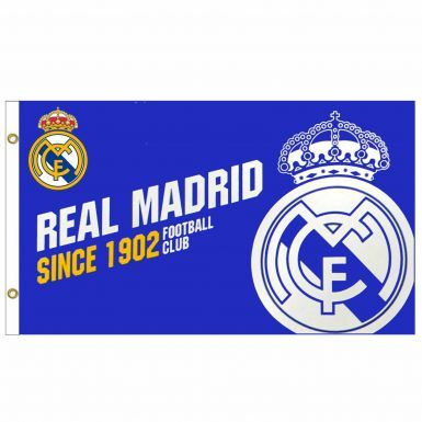 Official Real Madrid Crest Football Flag