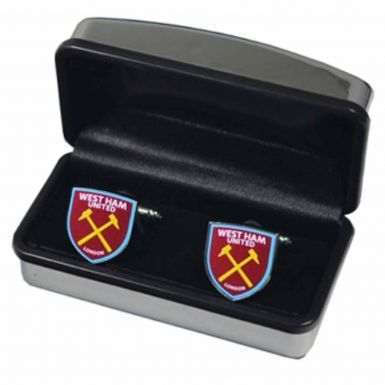 West Ham United Crest Cufflinks