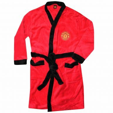 Unisex Manchester United Adults Dressing Gown