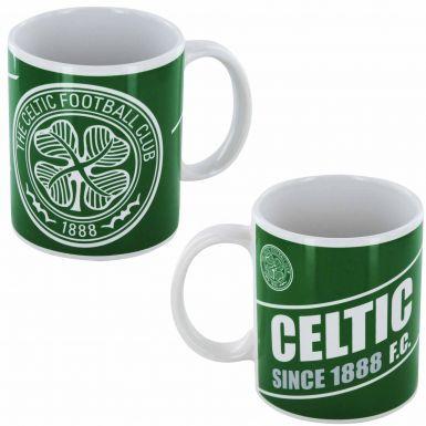 Celtic FC 1888 Crest Footbsall Mug