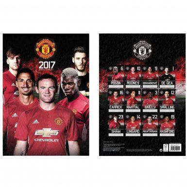 Manchester United 2017 Soccer Calendar