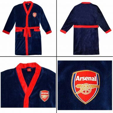 Unisex Arsenal FC Adults Dressing Gown