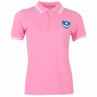 Ladies Portsmouth FC Fitted Polo Shirt