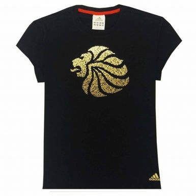 Official Ladies Team GB T-Shirt by Adidas