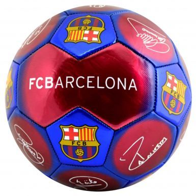 Official FC Barcelona Signature Soccer Ball Size 5