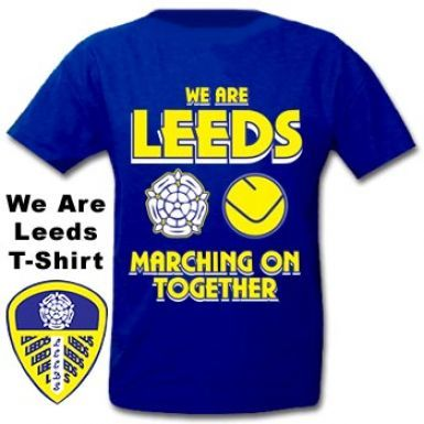 Leeds United Marching on Together T-Shirt