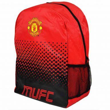 Official Manchester United Crest Backpack