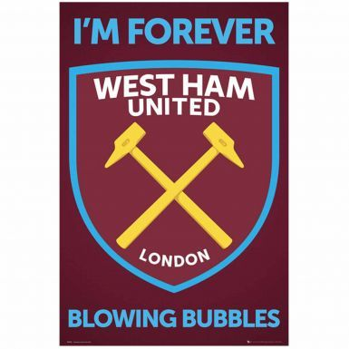 West Ham Utd NEW Crest Print Poster
