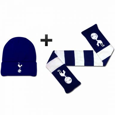 Tottenham Hotspur Winter Warmers Hat & Scarf Set