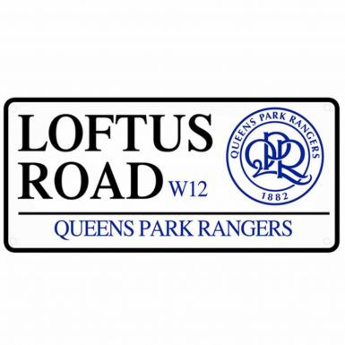 Queens Park Rangers Loftus Road Street Sign