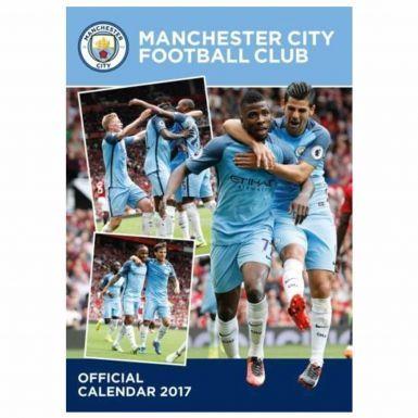 Manchester City 2017 Football Calendar