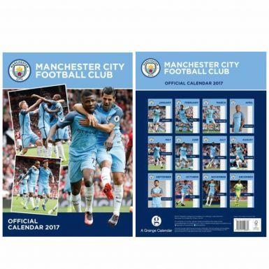 Manchester City 2017 Soccer Calendar