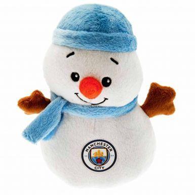 Manchester City Christmas Snowman Mascot