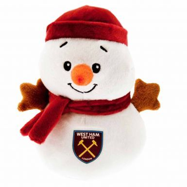 West Ham United Christmas Snowman Mascot