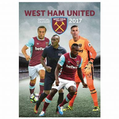Official West Ham United 2017 Football Calendar