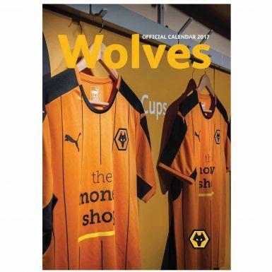 Wolverhampton Wanderers Wolves 2017 Football Calendar