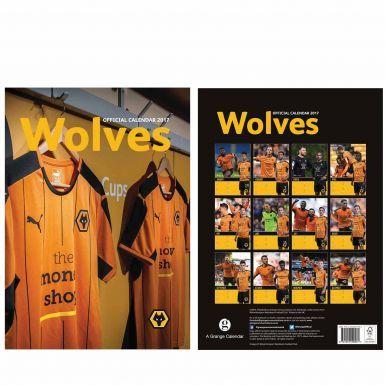 Wolverhampton Wanderers 2017 Soccer Calendar