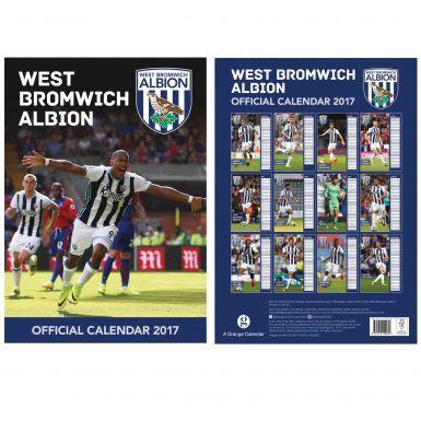 West Bromwich Albion 2017 Calendar