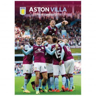 Aston Villa 2017 Football Calendar