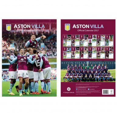 Aston Villa 2017 Soccer Calendar
