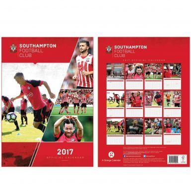 Southampton FC 2017 Soccer Calendar
