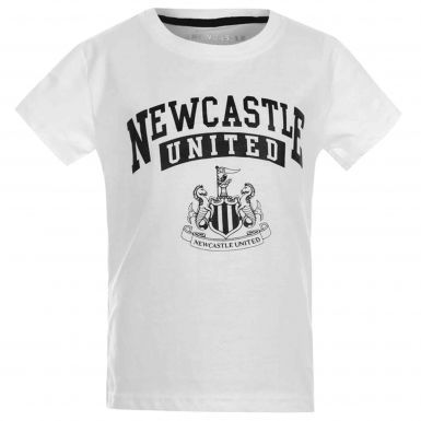 Newcastle United Kids Crest T-Shirt