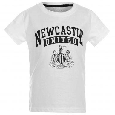 Newcastle United Kids Crest T-Shirt
