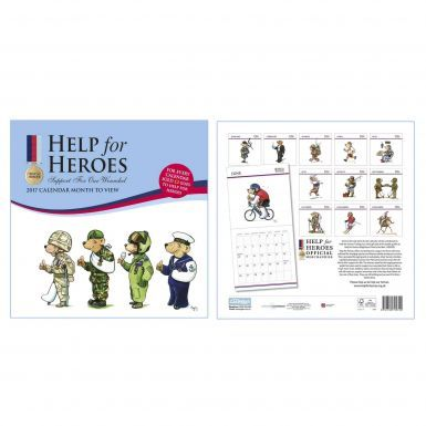 Armed Forces Help for Heroes 2017 Charity Calendar
